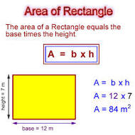 CC Geometry Unit 4.1 Notes #2 Areas of Squares, Rectangles and Right Triangles