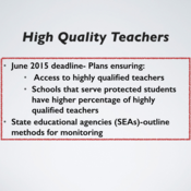Background and Historical Perspective of Teacher Evaluation