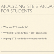 Analyzing ISTE Standards for Students