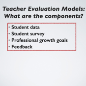 The Components and Process of Teacher Evaluation 2