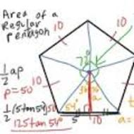 Unit 4.1 Lesson 4 Area of Regular Polygons