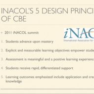iNACOL's 5 Design Principles of CBE