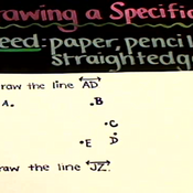 Drawing a Specific Line