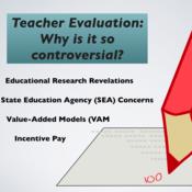 Teacher Evaluation, Controversial Topics