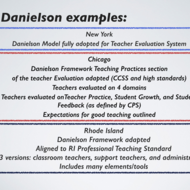 Danielson and Marzano in Action