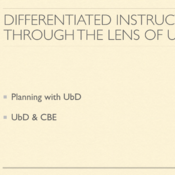 Differentiated Instruction Through the Lens of UbD