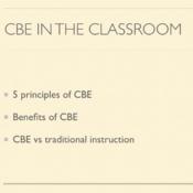CBE in the Classroom