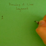 Drawing a Line Segment