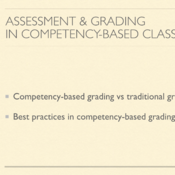 Assessment and Grading in Competency-Based Classrooms