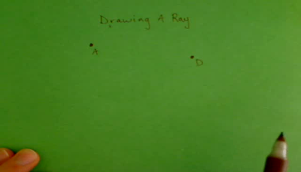 Drawing a Ray