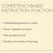 Competency Based Instruction in Action
