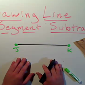 Drawing Line Segment Subtraction
