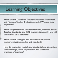 "Summary of  ""Evaluating Teacher Assessment and Evaluation Models"""