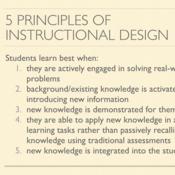 5 Principles Of Instructional Design Tutorial Sophia Learning