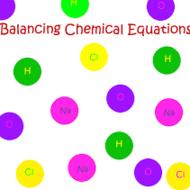 Balancing Equations