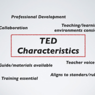 An Innovative Approach to Teacher Evaluation Using the TED Approach
