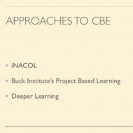 Approaches to CBE