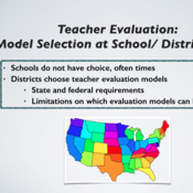 Teacher Evaluation Model Selection