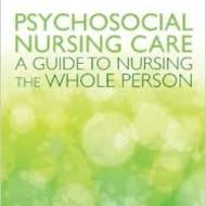 Psychosocial Nursing Care