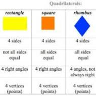 Attributes of Quadrilaterals, 8-14, 5th