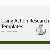 Using Action Research Templates