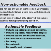 Best Practices in Providing Feedback