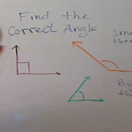 Identifying an Obtuse Angle