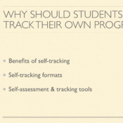 Why Should Students Track Their Own Progress?