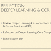 Reflection: How Deeper Learning Prepares Students for College and Career