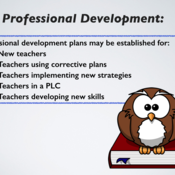Professional Development, Professional Improvement, and Instructional Coaching