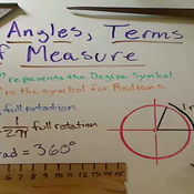 Angles Terms of Measurement