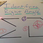 Identifying a Right Angle