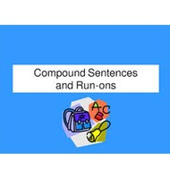 Fixing Sentences:  Run-ons to Simple to Compound