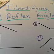 Identifying a Reflex Angle