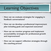 """Summary of """"Apply professional growth and improvement strategies"""""""