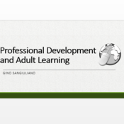 Professional Development and Adult Learning