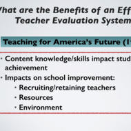 Benefits and Pitfalls of Teacher Evaluation Models