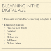 Changes in Adult Learning in the Digital Age