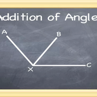 Angle Addition