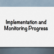 Implementation and Monitoring Progress