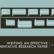 Writing an Effective Argumentative Research Paper