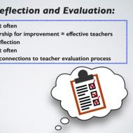 Evaluation Self-Reflection