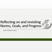 Reflecting on and Revising Norms, Goals and Progress