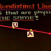 Nondistinct Lines