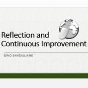Reflection and Continuous Improvement