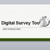 Digital Survey Tools