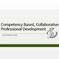 Competency Based Collaborative Professional Development