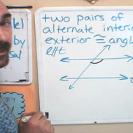 Alternate Interior and Alternate Exterior Angles