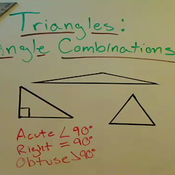 Triangle Angle Combinations
