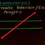 Alternate Interior and Alternate Exterior Angles